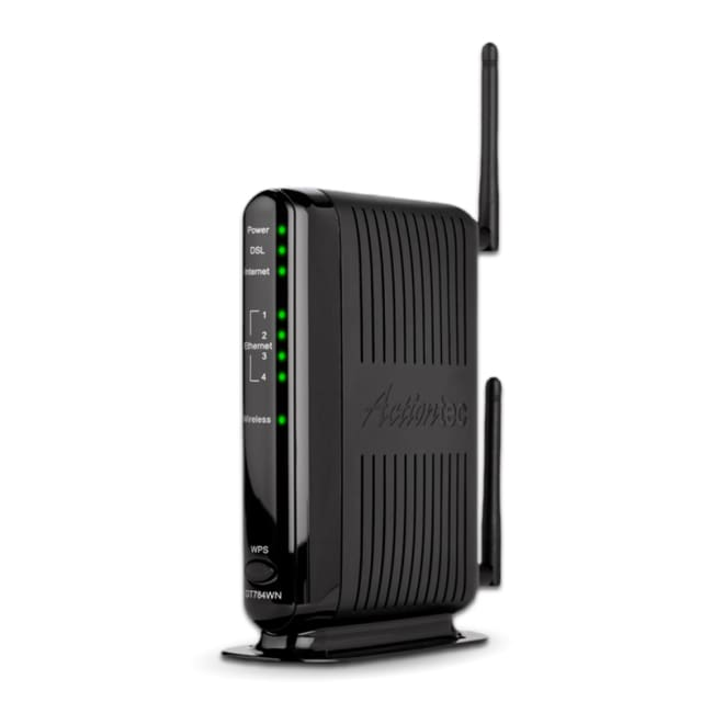 Actiontec N DSL GT784WN Wireless Modem Router - Router