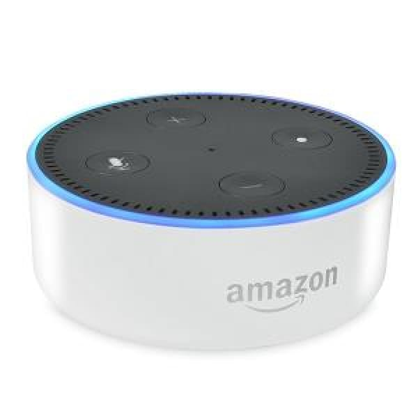 Amazon Echo Dot (2nd Generation) (White) - Bluetooth Speaker