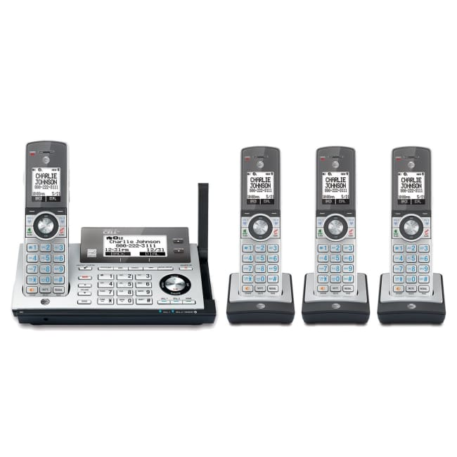 AT&T CLP99486 DECT 6.0 cordless phone with Bluetooth - 4 Handsets - Phone