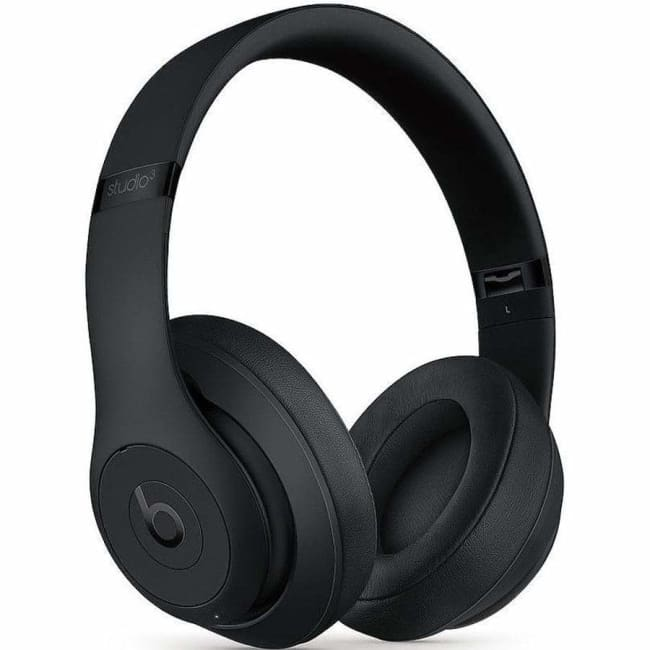 Beats Studio3 Wireless Over-Ear Headphones w/ Mic- Black - Headphone