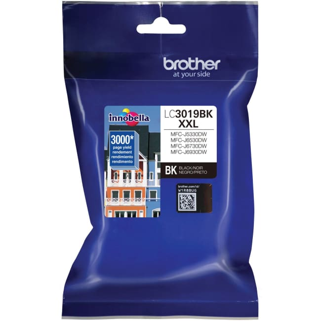 Brother Innobella LC3019BK Extra-High-Yield Black Ink Cartridge - INK
