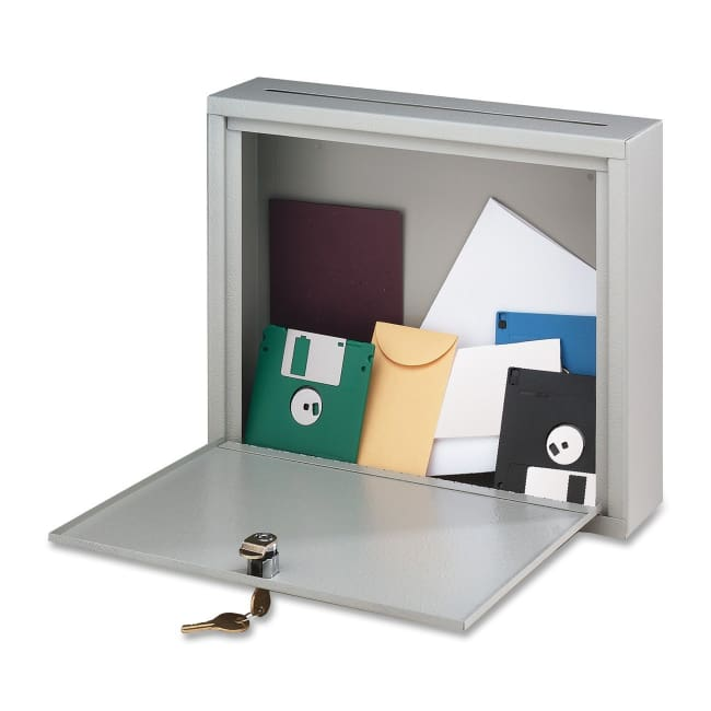 Buddy Products Inter-Office Mailbox - 7 x 18 x 18 Inches Platinum (5626-32) - Office Mailbox