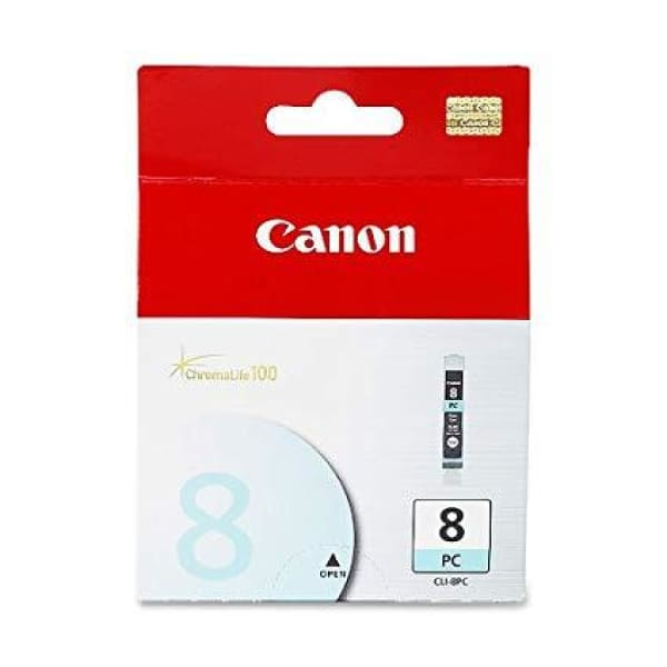 Canon CLI 8 Photo Cyan Ink Cartridge Standard (0624B002) - INK