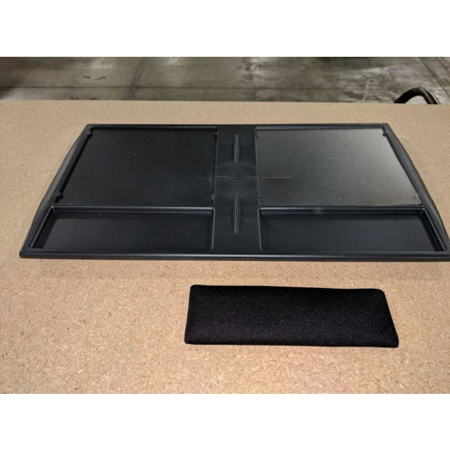 Curtis Plastic Mouse Tray - Black - Accessories