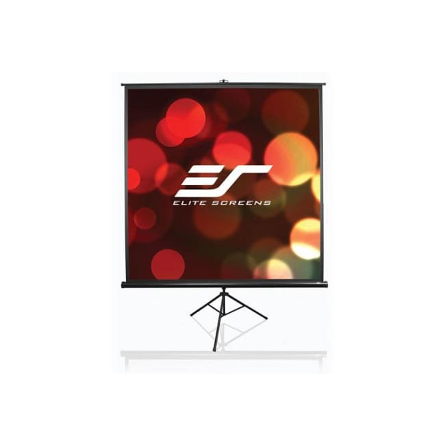 Elite Screen T71NWS1 Tripod Series 71(1:1) MaxWhite Projector Screen - Elite Screen