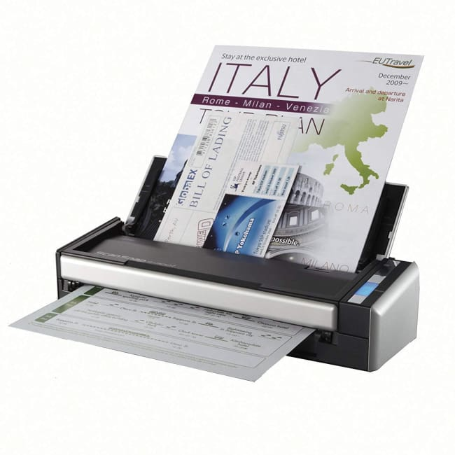 Fujitsu ScanSnap S1300i Mobile Document Scanner for Mac & PC - Scanner