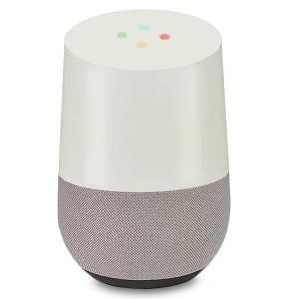 Google Home Voice Activated Smart Speaker White (A) - Bluetooth Speaker