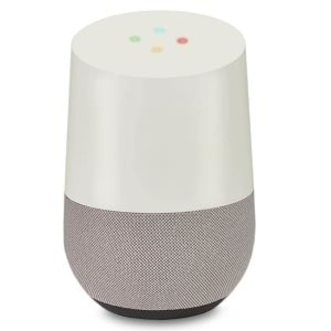 Google Home Voice Activated Smart Speaker White (FBA)