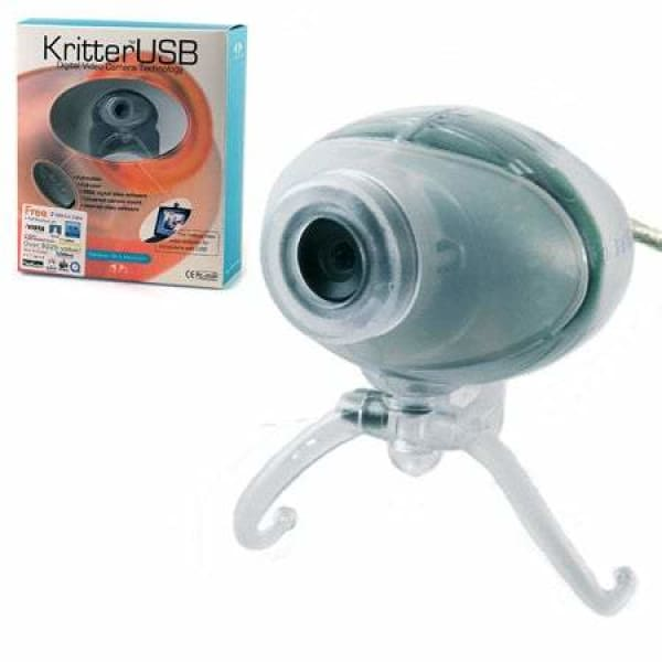 IREZ KritterUSB Digital Video Camera Technology - Ice - Web Camera