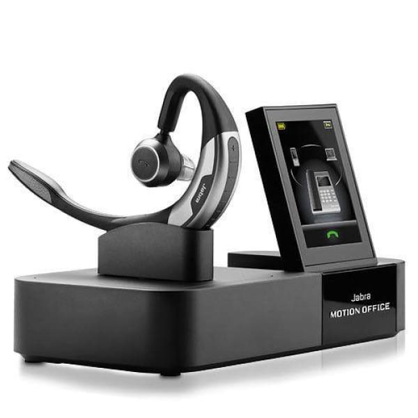 Jabra 6670-904-105 Motion Office Wireless Bluetooth Headset w/ Touch Screen Base - Bluetooth Headset