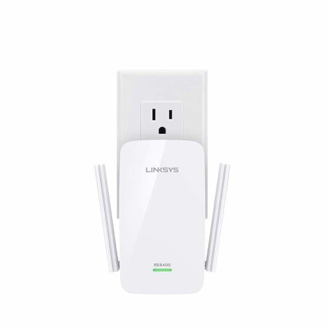 LINKSYS RE6400 AC1200 BOOST EX WI-FI RANGE EXTENDER (PBA)