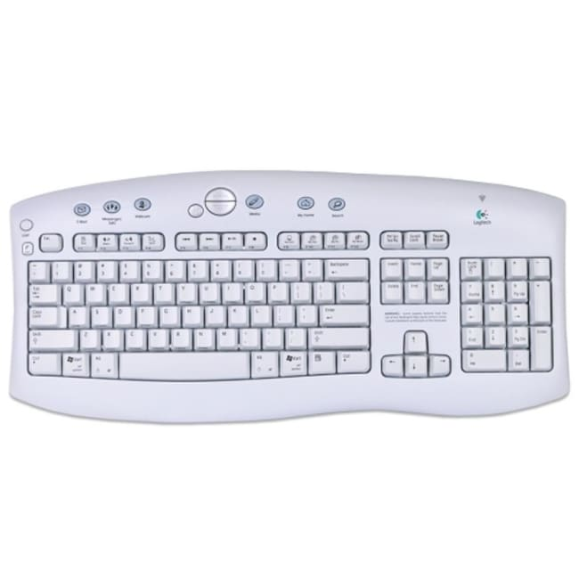 Logitech Cordless Access 104-Key USB Keyboard - keyboard