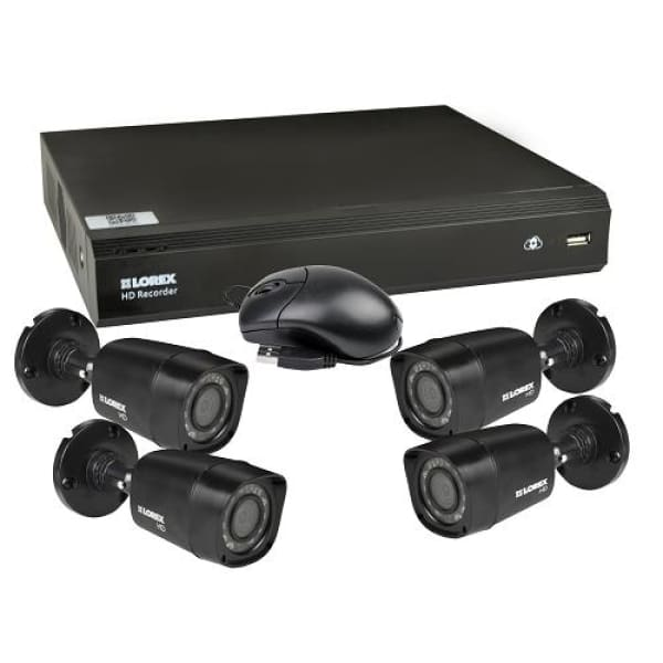 Lorex LHV00081TC4 8-Channel 1TB HD DVR Security System - Security System