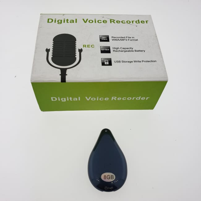Mini Voice Recorder 8GB Small Necklace Pendant Recording MP3 - Voice Recorder