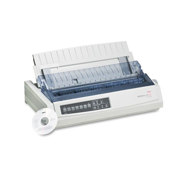 OKI Microline 321 Turbo Monochrome Dot-Matrix Printer - printer
