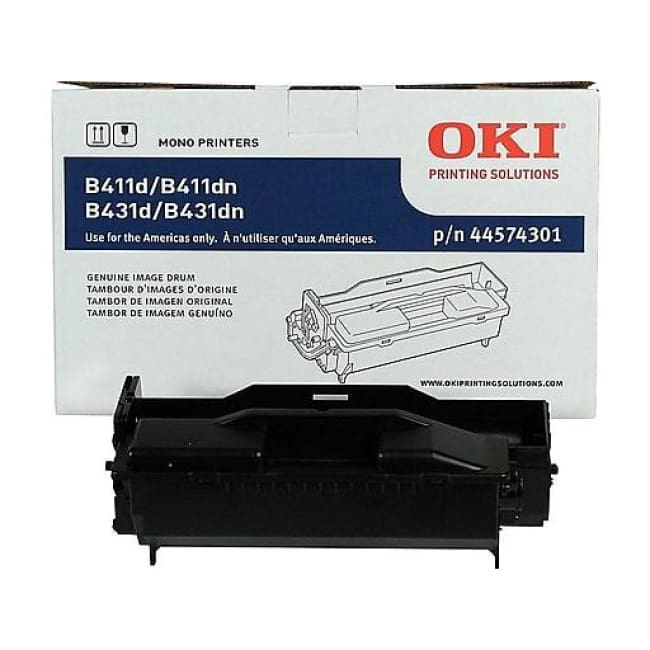 Okidata Image Drum For B411/b431 Series Printers 20000 Page Yield Black