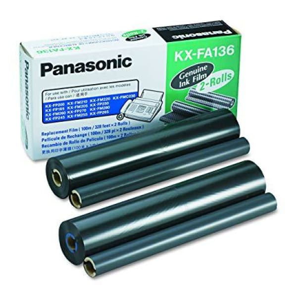 Panasonic KX-FA136 Ink Film Roll (2-Rolls) - Ink Film Roll