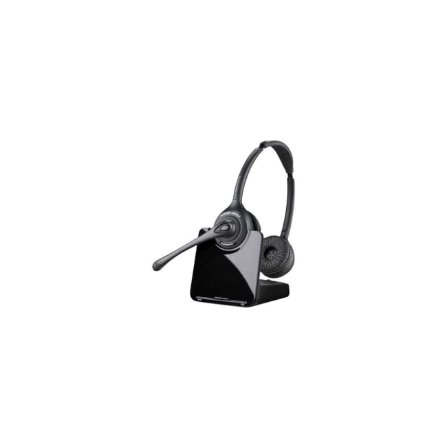 Plantronics CS520-XD Wireless Binaural Headset - Microphone