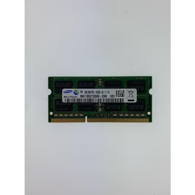 Samsung 4GB PC3-10600 DDR3 1333MHz 204-Pin Notebook SODIMM - Storage