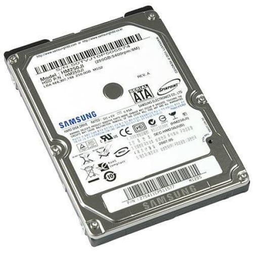 Samsung SpinPoint HM250JI 250GB SATA/150 5400RPM 8MB 2.5 Hard Drive