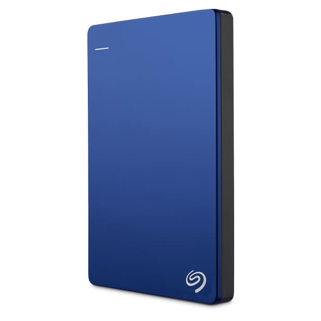 Seagate Backup Plus Slim Portable Drive 2TB Blue - Portable Hard Drive