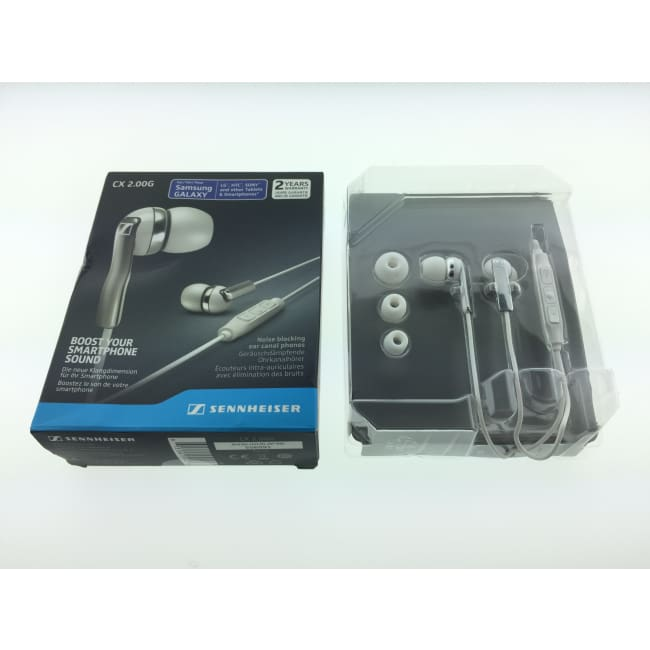 Sennheiser CX 2.00G Black In-Ear Canal Headphones