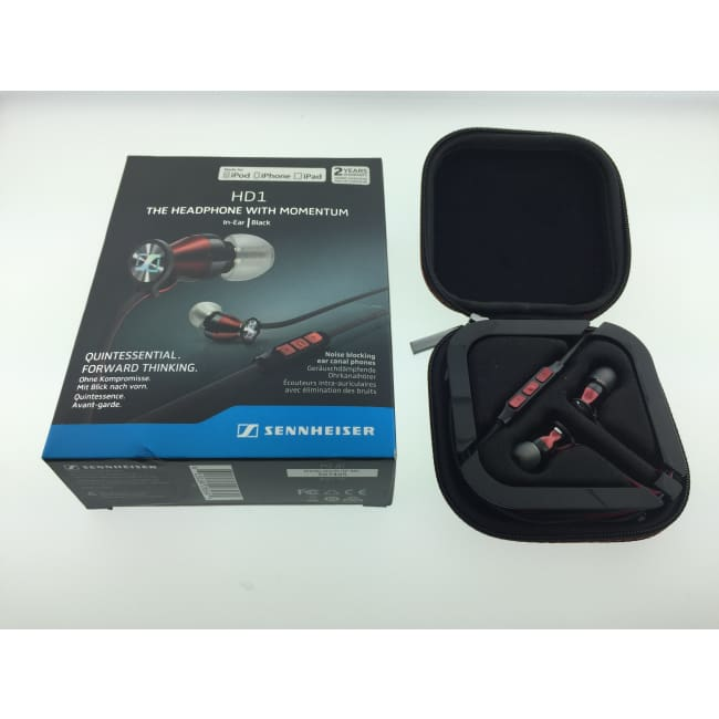 SENNHEISER - M2 IEi - HD1 Headphones - Black (ANOB)