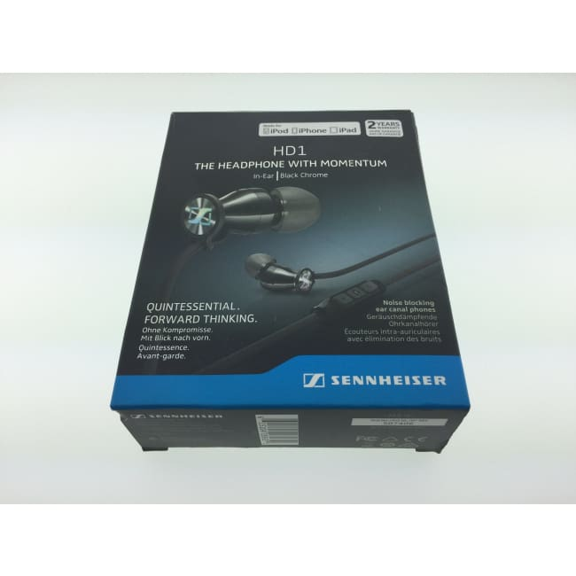 SENNHEISER - M2 IEi - HD1 Headphones - Black Chrome (A)