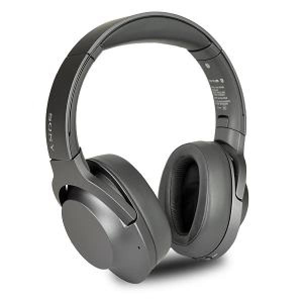 Sony WH-H900N/BM h.ear on 2 Bluetooth Wireless Noise Canceling Over-Ear Headphones w/Integrated Mic (Gray/Black) - Headphones