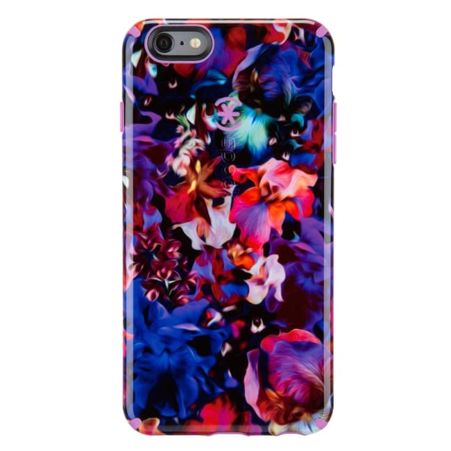 Speck CandyShell Inked Case for iPhone 6 Plus Lush Floral Pattern/Beaming Orchid - iPhone Case