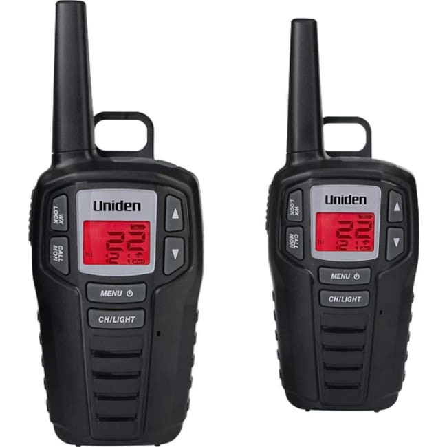 Uniden SX237-2CK 23-Mile 2-Way FRS/GMRS Radios - Walkie Talkies