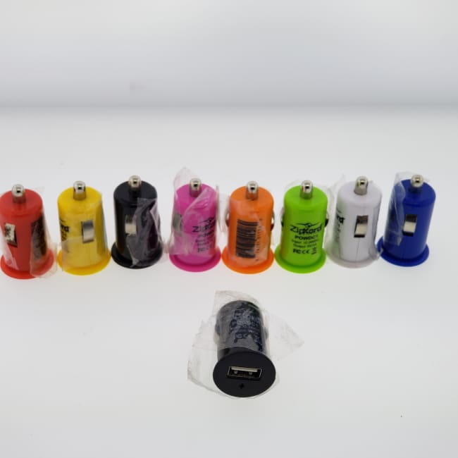 USB Car Cigarette Lighter DC Power Charger Adapter Lot of 8 - Charger