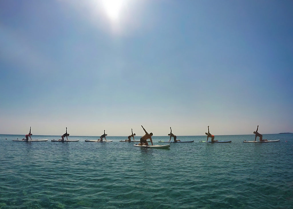 so we flow... Jon Garstang: Finding The Balance of Life - paddleboard yoga