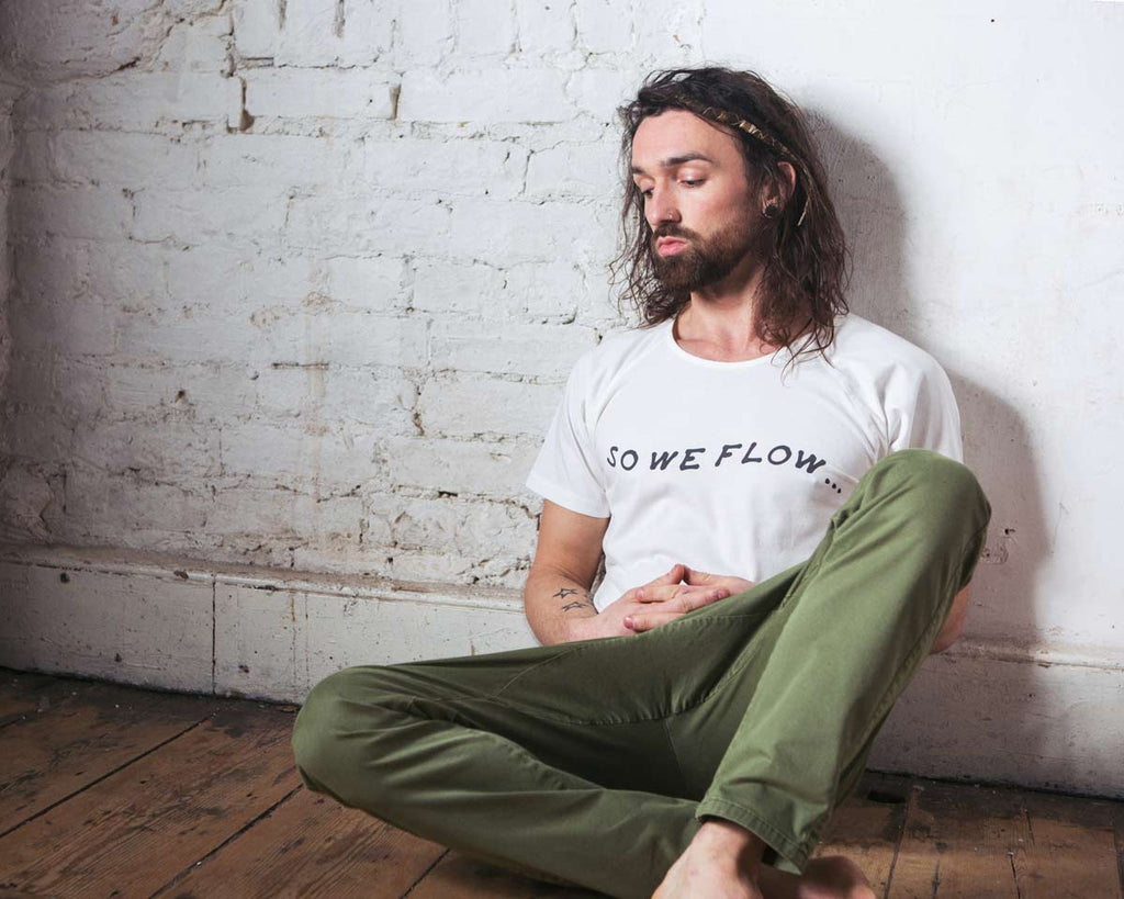 so we flow... 'so we flow...' tee - natural