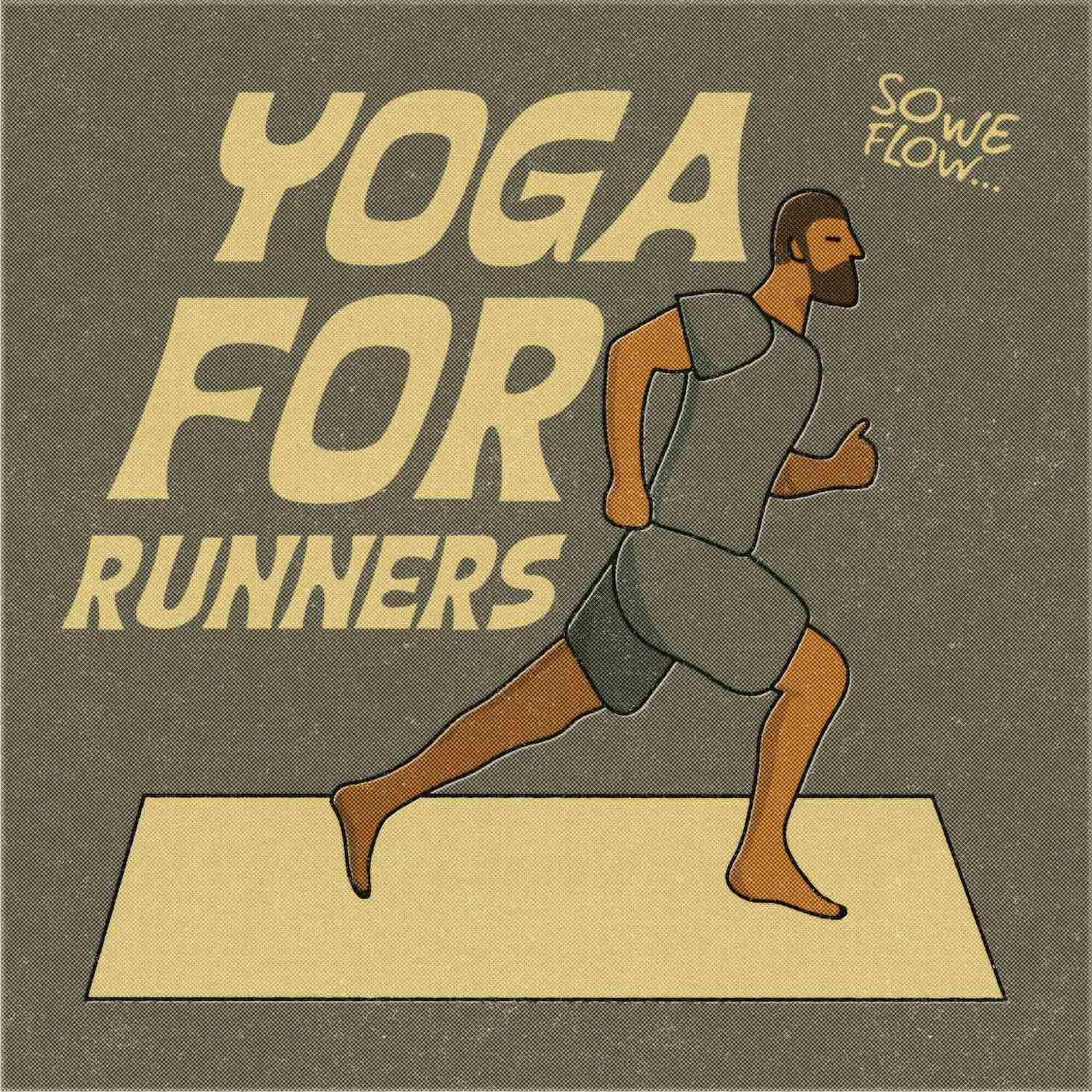 So We Flow... Yoga For Runners Artwork