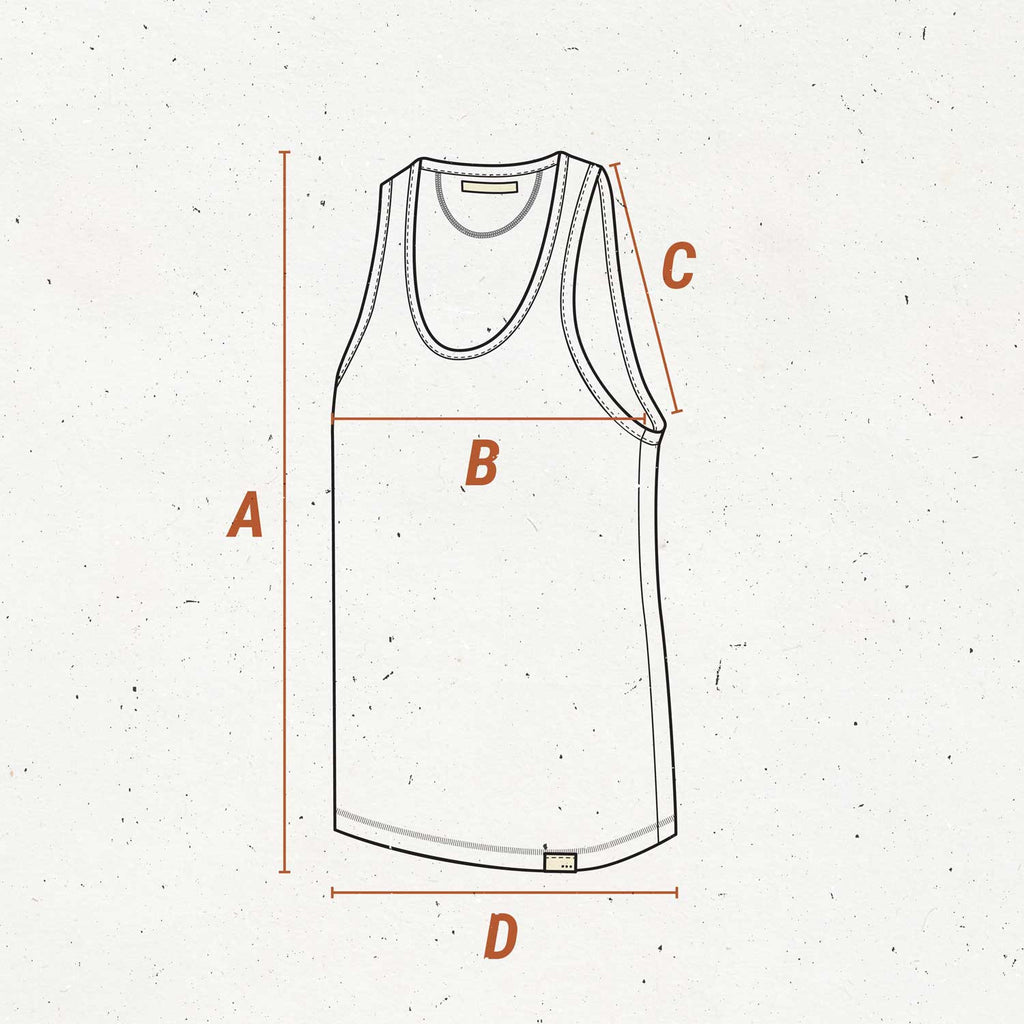 so we flow... Size guide for jersey vest