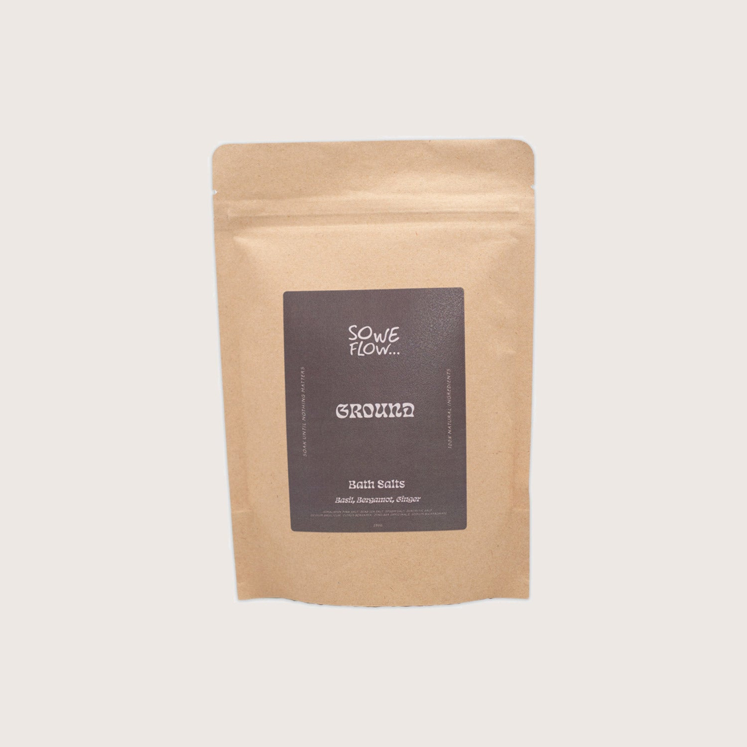 Ground - Bath Salts by So We Flow...