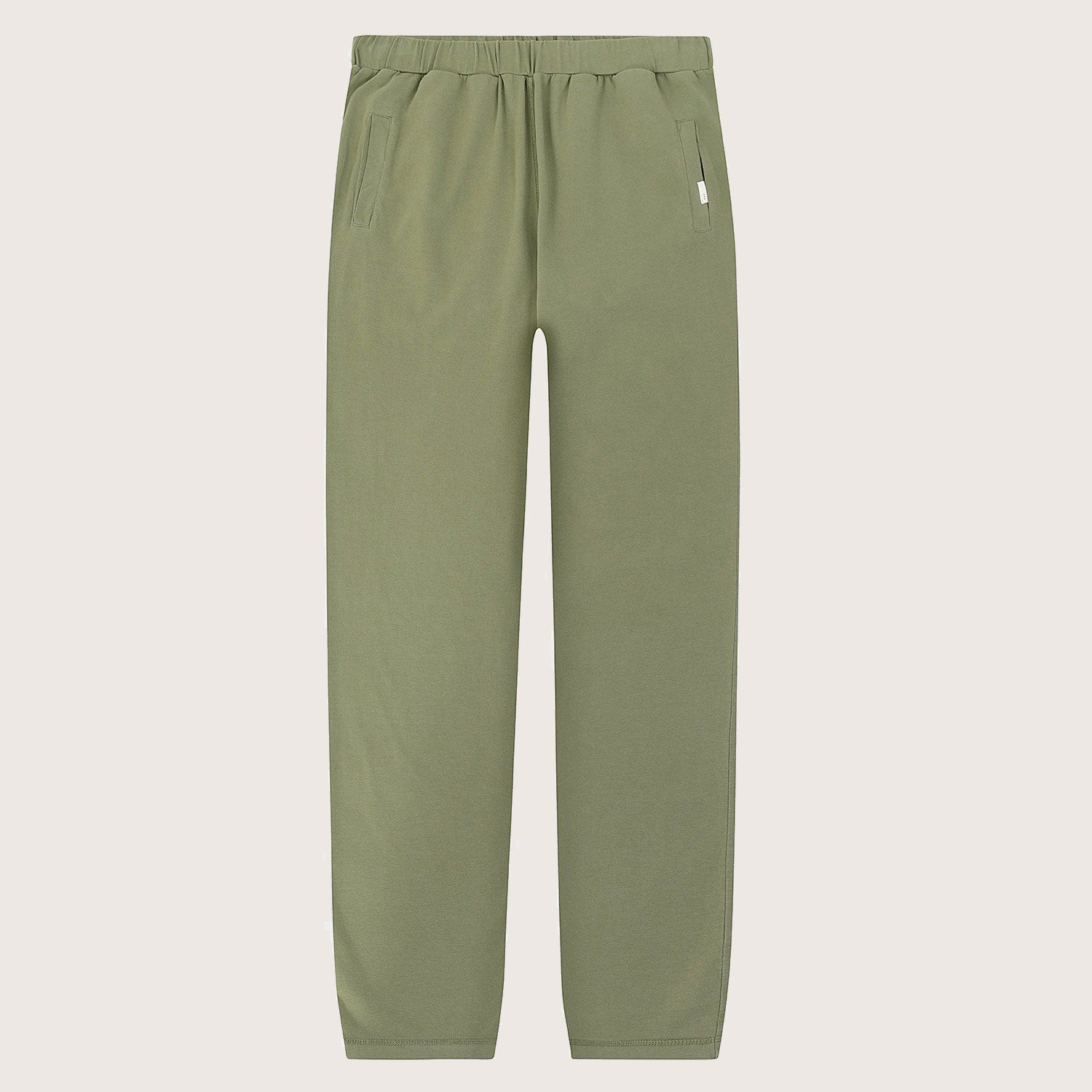 So We Flow... Jersey Yoga Pants in Olive