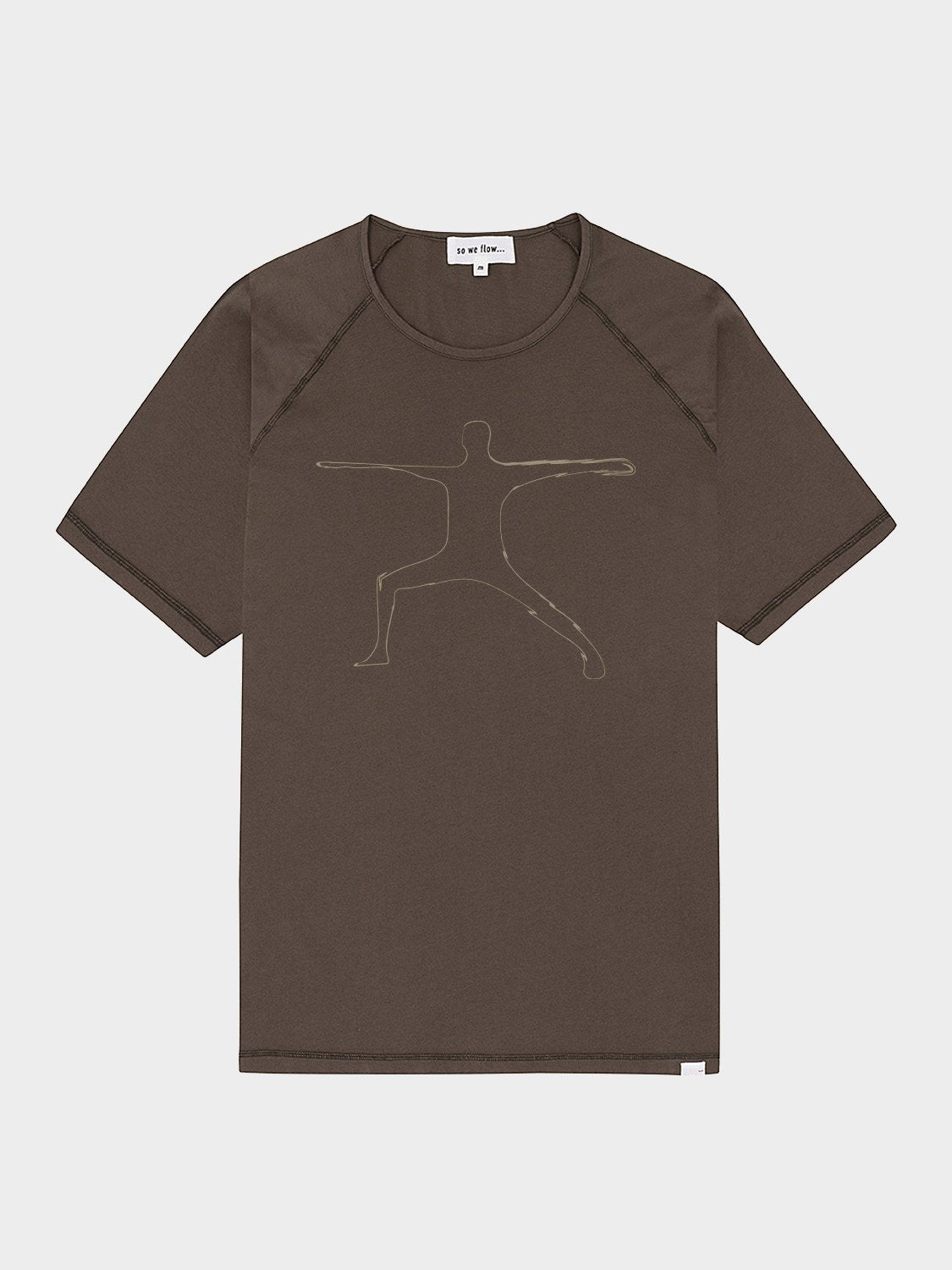Warrior 2 T-Shirt - Grit by So We Flow...