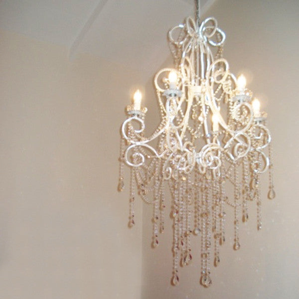 Chandelier large 6 light french style anastasia ivory deene chandelier 6 light anastasia aloadofball Gallery