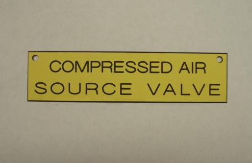 MEDICAL AIR SOURCE VALVE