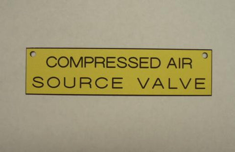 COMPRESSED AIR SOURCE VALVE