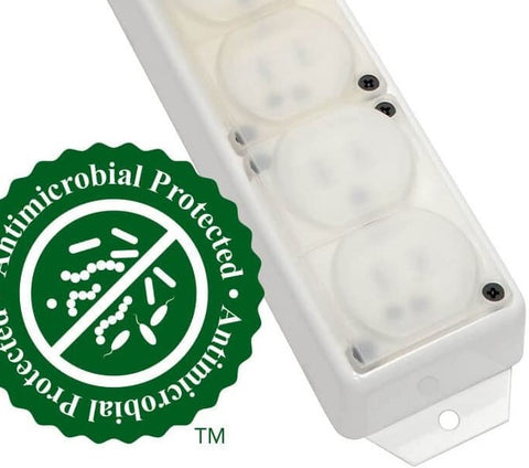 HOSPITAL GRADE POWER STRIP - 6 RECEPTACLES