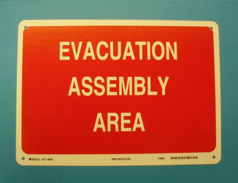 EVACUATION ASSEMBLY AREA