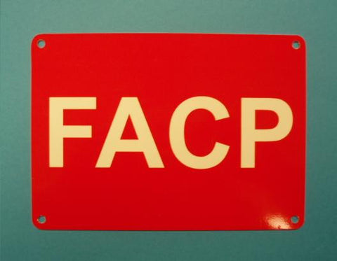 FIRE ALARM CONTROL PANEL (FACP)-INDOOR, NON REFLECTIVE