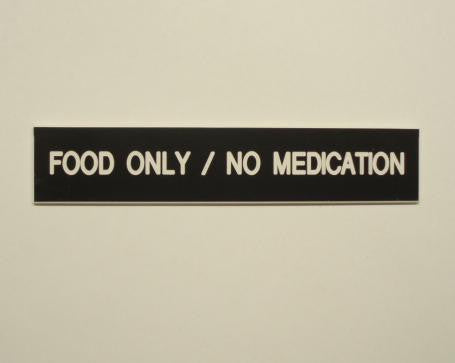 Food Only/No Medication