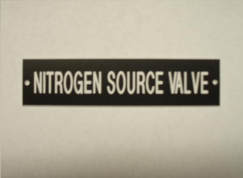 NIRTROGEN SOURCE VALVE