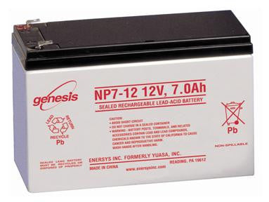 Fire Alarm Battery (12V 7Ah  AGM (NP7-12))