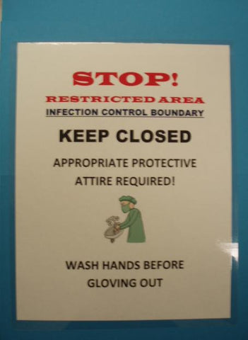 Infection Control Wash Hands