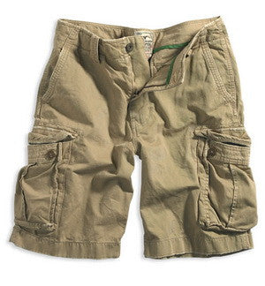 Khaki Cargo Shorts - RocketAmp Sample Store